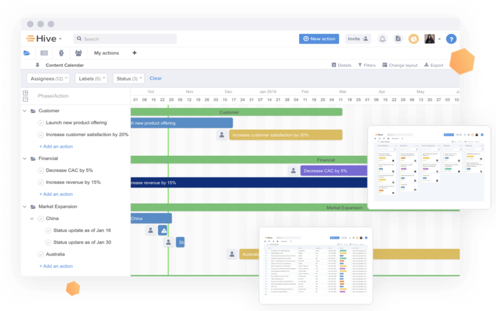 Hive for Marketers Screenshot